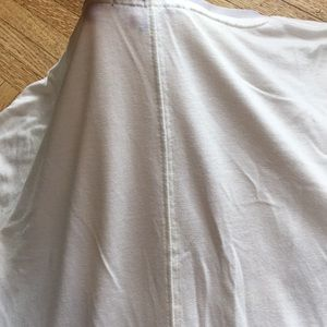 GAP Tops - GAP mesh detail T-shirt with center seam down back